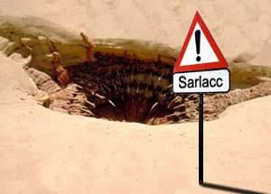 Peligro, Sarlacc